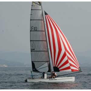 Flat spinnaker for F18 - FORWARD SAILING - FW-SPF18FLAT1