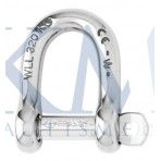 Self Locking D Shackle Right-Wichard