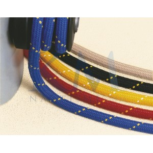 Braid polyester 16 spindles sheathed polyester batch 32 spindles XM Ropes Matt 32 uni blue Ø 12 mm per metre