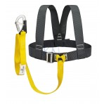 KIT HARNAIS + LONGE 1 MOUSQUETON DS