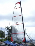 Grand voile Hobie Cat 14 NX3 - FORWARD SAILING - FW-GVHB141001