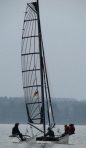 Grand voile Hobie Cat 17 et 18