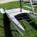 Cover for Hobie Cat 17 - FORWARD SAILING - FW-TAHB171000