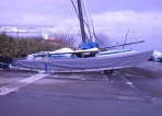 Hobie Cat 16 hull Cover - FORWARD SAILING - FW-TAHB16COQ1