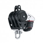Pulley Carbo triple stop 75 mm