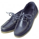 Boat Shoes Navy Blue Crew