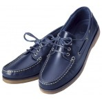 Boat Shoes Navy Blue woman Crew