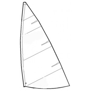 Great sailing Laser 4.7 comp.