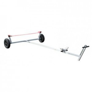 Launching trolley strap water Alu Small dinghy