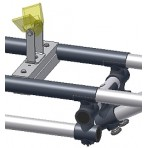Cross bar for V-block carrier - to trim position of the Jet on the trolley - for JetTrax+RibTrax