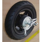 Air wheel 250x55mm (9.9x2.2in)-grooved - grooved ball bearing