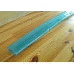 PVC tube made from semi transparent plastic - for 35 mm round tubes