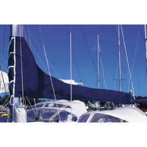 Awning Grand sail boom 4. 45 m in Royal Blue Dralon Plastimo