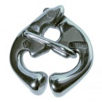 Carabiner Wichard stainless steel HR has quick release 85 mm