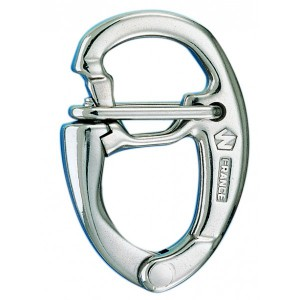 Carabiner Wichard stainless steel HR opening under load 150 mm