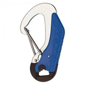 Carabiner Wichard stainless steel HR opening under load 90 mm
