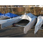 Cover Class A catamaran - FORWARD SAILING