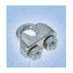 Wire rope clips 3-4mm