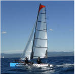 Grand voile Hobie Cat 18 Formula