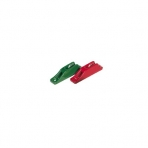 Wedge Plastimo junior red + green polyamide for rope Ø 3-6 mm