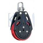 Poulie winch 57mm Carbo Ratchamatic RED - HARKEN - HA2625RED