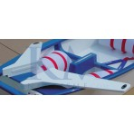 Polyester rowing seat - EX1230 - OPTIPARTS