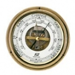 "Plastimo 6 ""polished brass barometer"