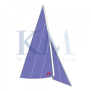 Mainsail and Jib for Laser PICO by Windesign - EX2035 - OPTIPARTS